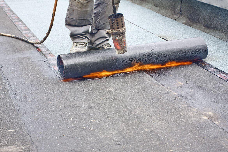 Torched Felt Flat Roofing Dublin