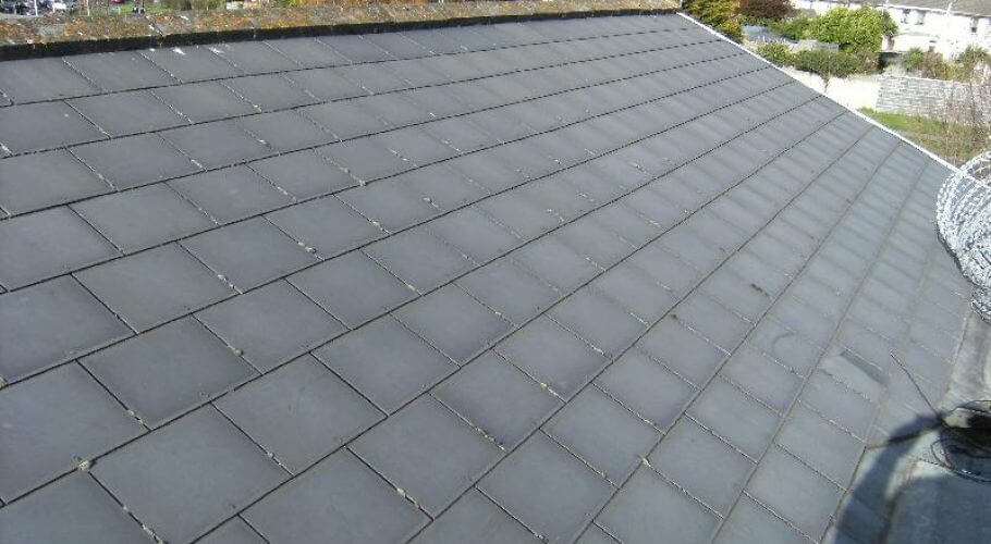 Roofing Experts Finished Slate Roof Dublin