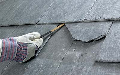 Roofing Experts - Slate Tile Roof Repair