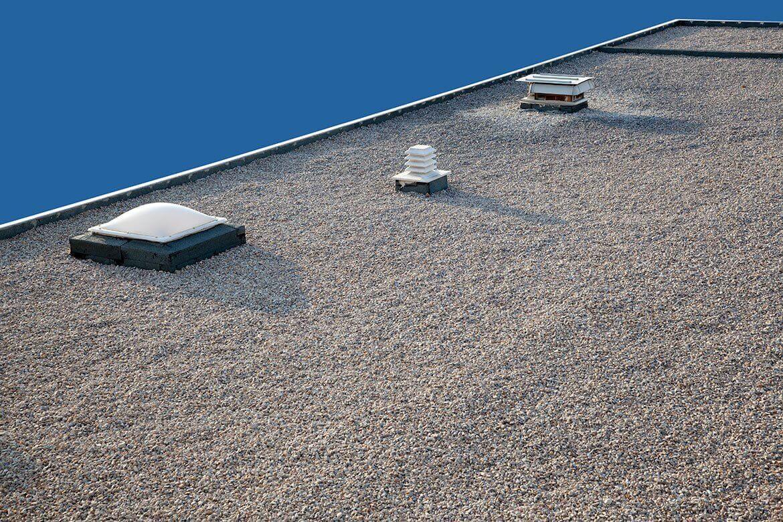 Gravel Flat Roof Repairs