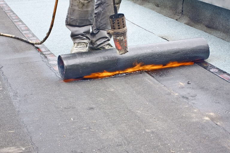 Torched Felt Flat Roofing Dublin