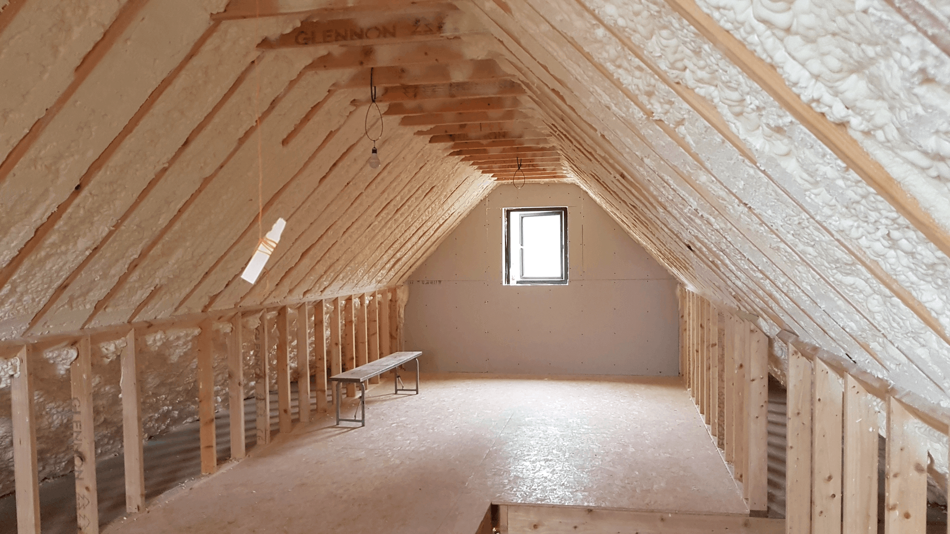 Roofers Dudlin Attic Insulated